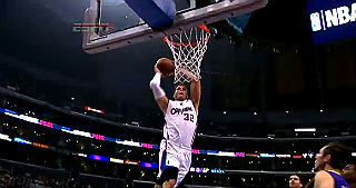 Blake Griffin in action for the LA Clippers