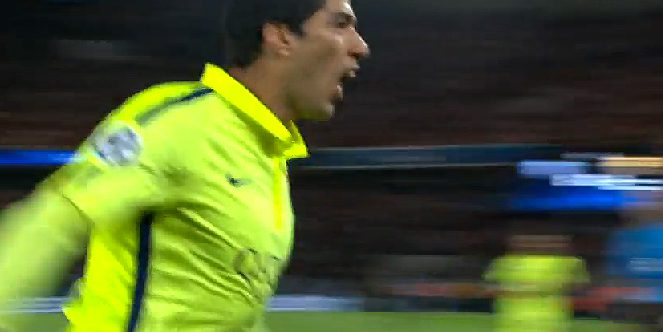 Luis Suarez Barcelona and Champions League