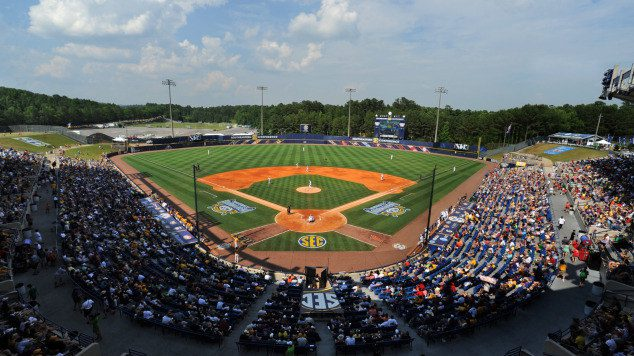 NCAA Baseball Tournament on ESPN3, SEC