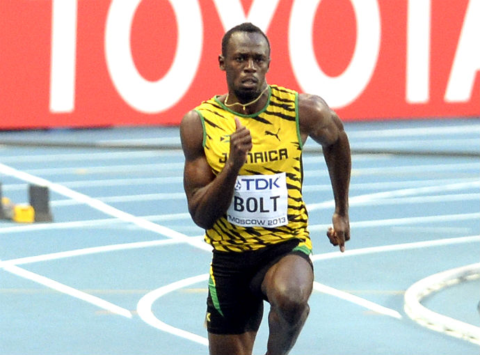 Usain Bolt World Championships