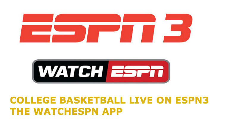 College Basketball ESPN3, WatchESPN Live Fixtures: Jan 20