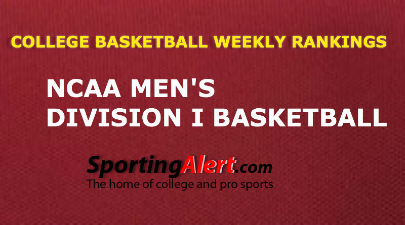 Top 25 College Men's Basketball Rankings -Week 7: Dec. 21 ...