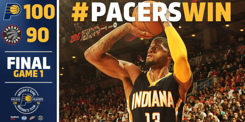 Paul George of Pacers