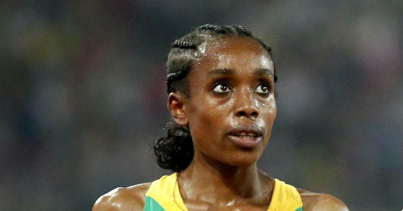 Almaz Ayana Diamond League