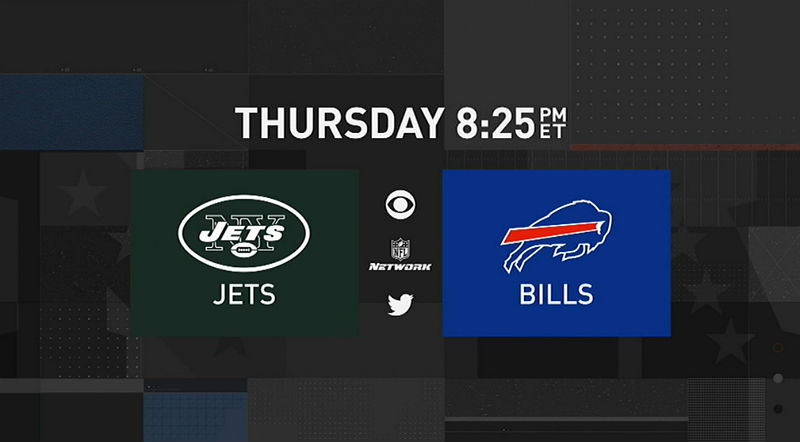 New York Jets and Buffalo Bills. NFL