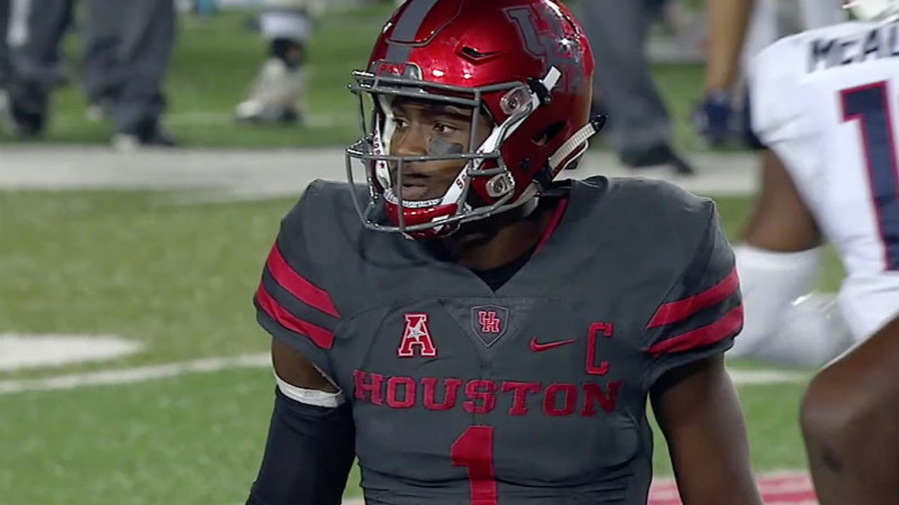 Dominant Ward Jr  Leads Houston To Week 5 College football