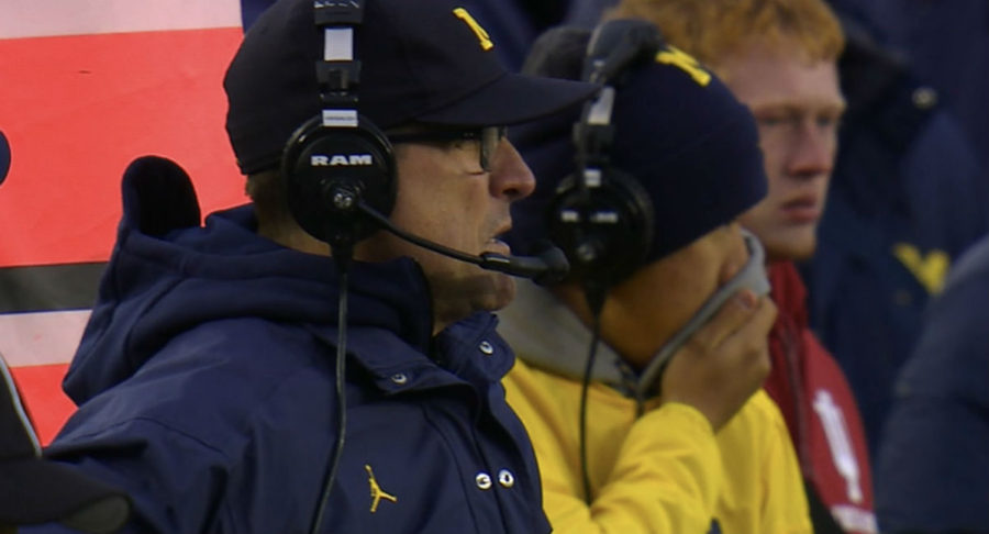 Jim Harbaugh Big Ten football coach