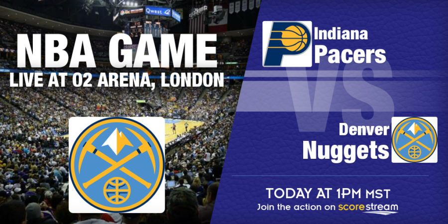 Indiana Pacers v Denver Nuggets in London