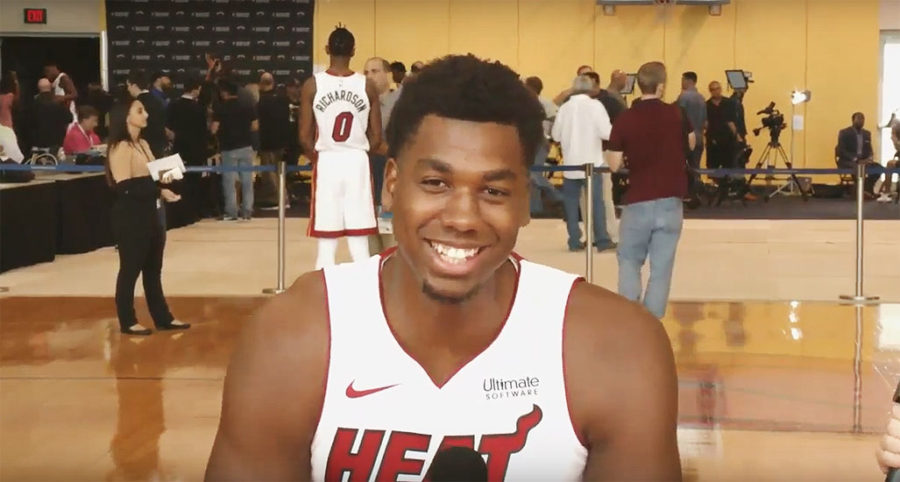 Hassan Whiteside of Miami Heat