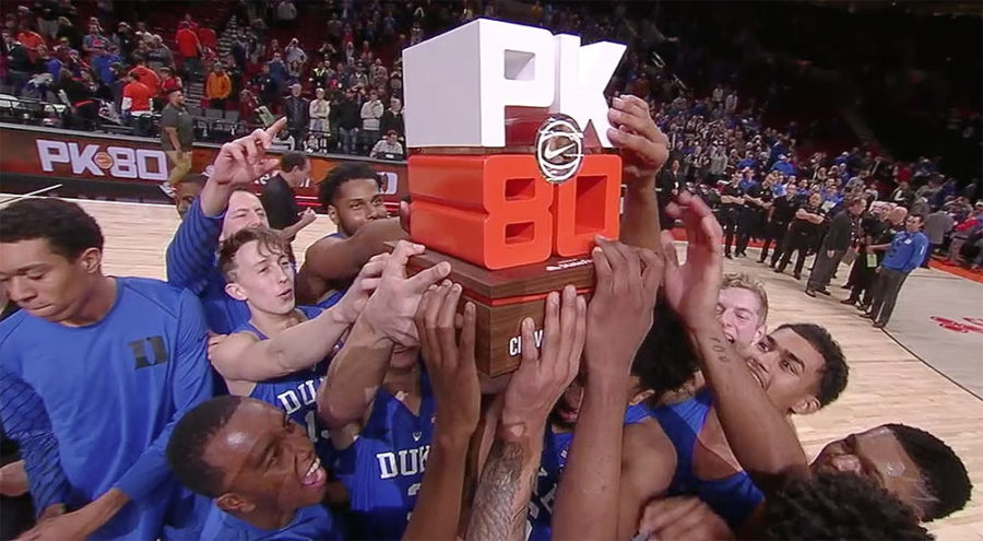Duke Blue Devils: PK80 invitational