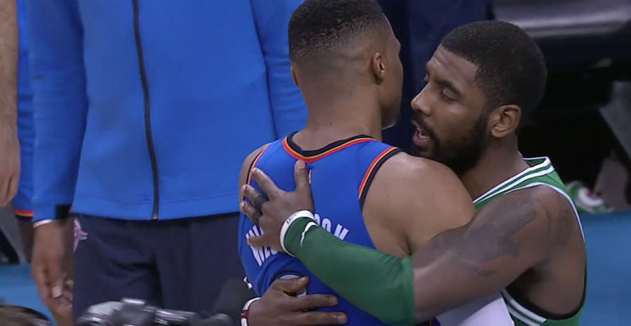 Russell Westbrook and Kyrie Irving