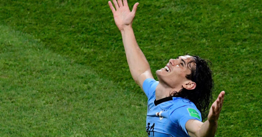 Edinson Cavani of Uruguay - World Cup