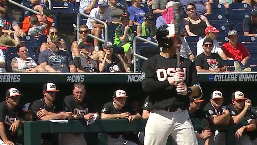 Oregon State Baseball at World Series