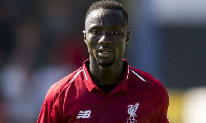 Naby Keita of Liverpool