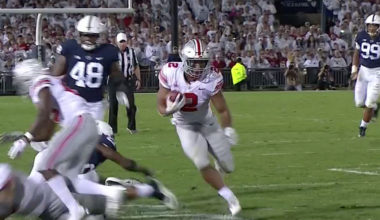 No. 4 Ohio State Comes From Behind, Edges No. 9 Penn State