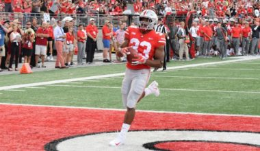 Haskins, Weber Star, No. 5 Ohio State Routs Beavers, 77-31