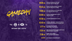 No. 13 LSU v No. 2 Georgia Live Updates, Stream, Scores