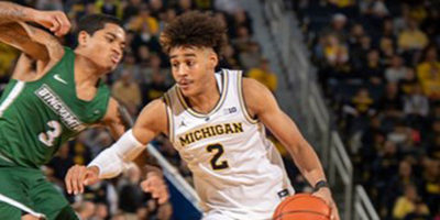 Jordan Poole of Michigan Wolverines basketball