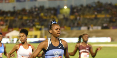 Kevona Davis wins at Champs 2019 - misses Carifta Trials