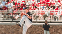 Texas Tech Pitcher - Super Regionals 2019